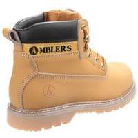 Amblers Tavistock Mens Boots Honey